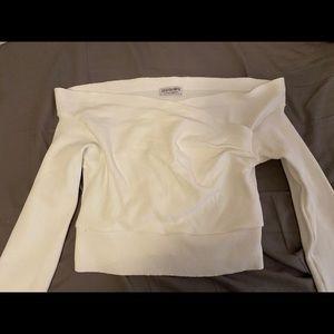 Fashion nova off the shoulder long sleeve
